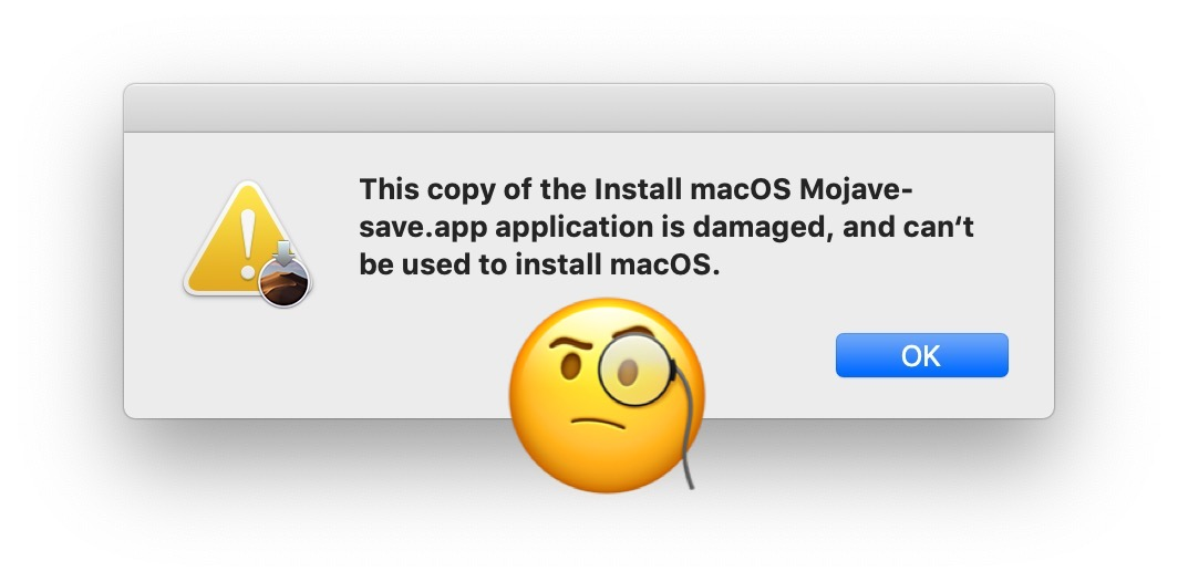 "How to Fix ""application is damaged, can't be used to install macOS"" Errors"