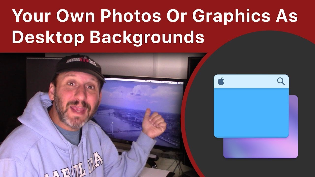 Using Your Own Photos Or Graphics As Desktop Backgrounds