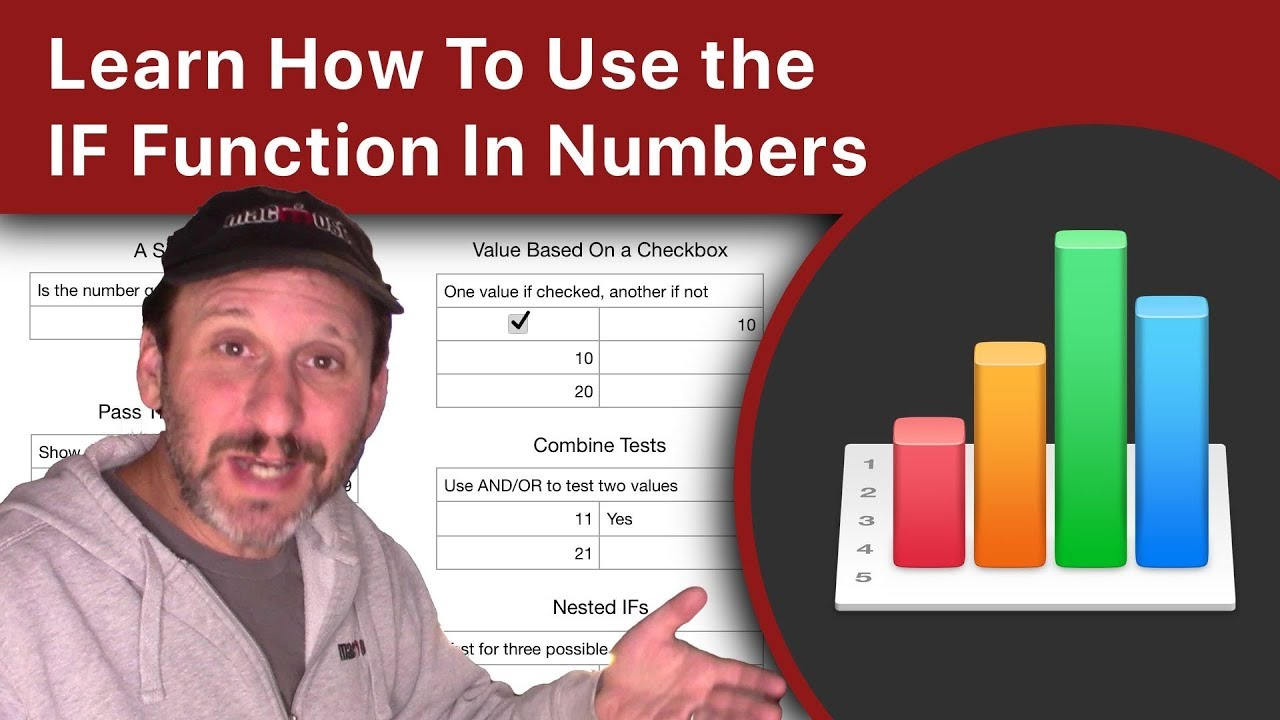 Learn How To Use the IF Function In Numbers