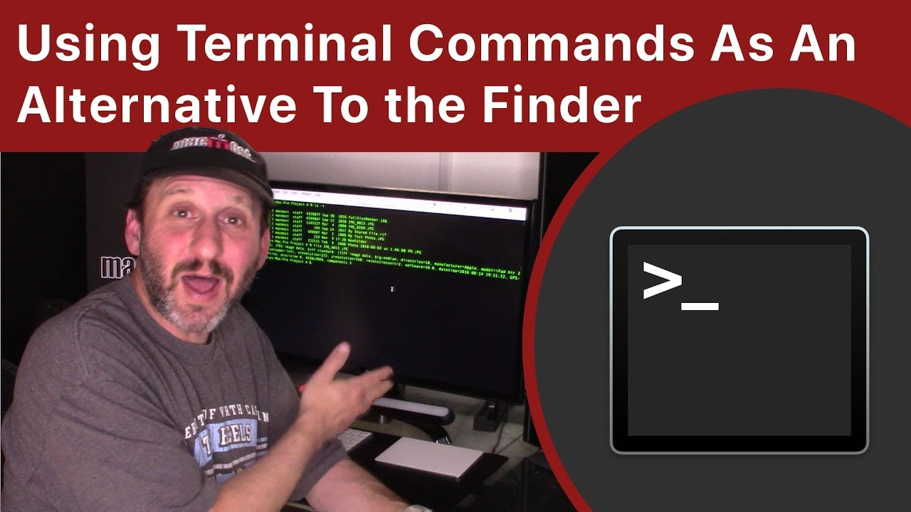 Using Terminal Commands As An Alternative To The Mac Finder