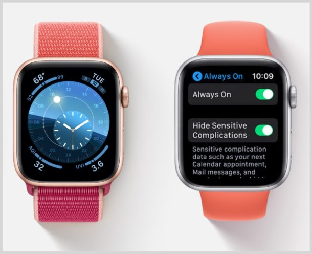 How to enable or disable Always On Apple Watch display