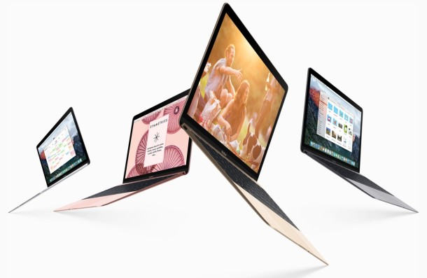 MacBook 2016 models