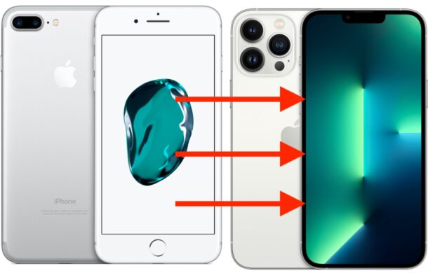 Transfer old iPhone to new iPhone 13 Pro