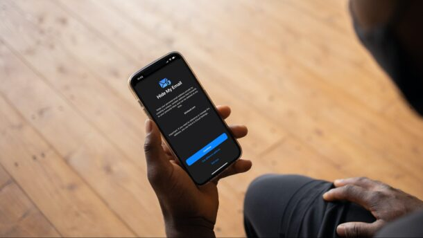 How to Use Hide My Email for Signups from iPhone
