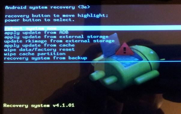 Mengatasi Android Error, Reset Factory android, Wipe Data, Backup Data