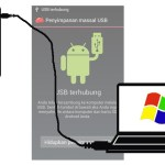tips android, menghubungkan android ke komputer, kabel data