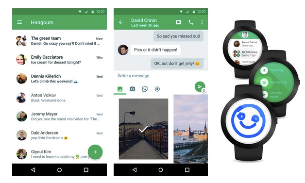 Download, Google Hangouts 4.0
