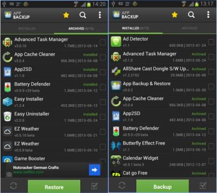Cara Backup & Restore Aplikasi, smartphone android