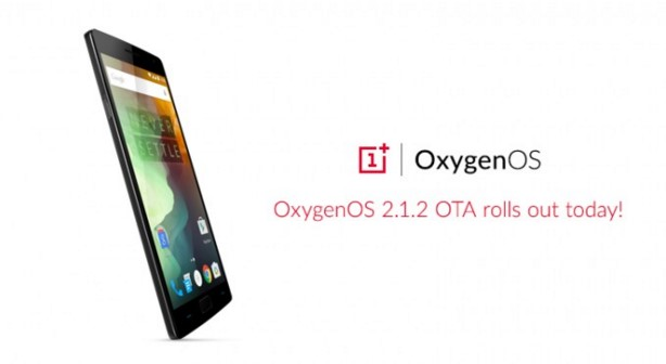 Pembaharuan, OxygenOS 2.1.2, OnePlus 2
