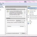 Windows 7 Task Scheduler