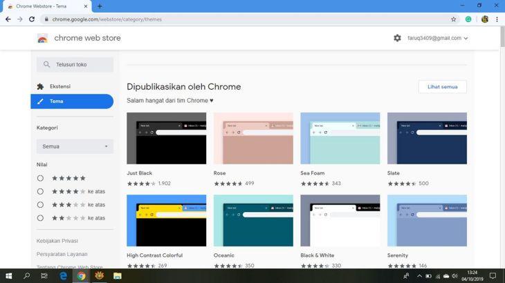 Tips Mudah Mengganti Tema Background Di Google Chrome