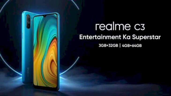 Realme C3 Resmi Masuk Pasar Indonesia