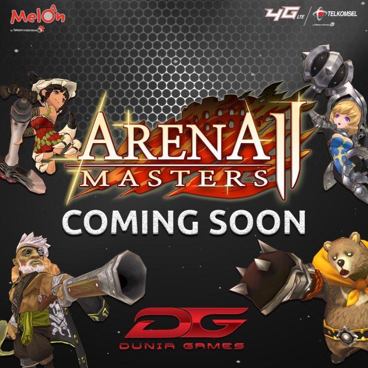 Catat! Arena Master 2 Meluncur 25 November 2020