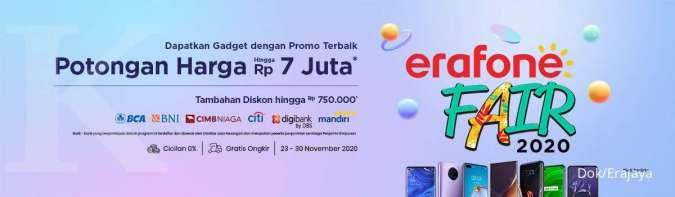 Erajaya Group Kembali Gelar Erafone Fair 2020