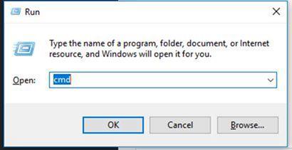 Tekan Tombol Windows R