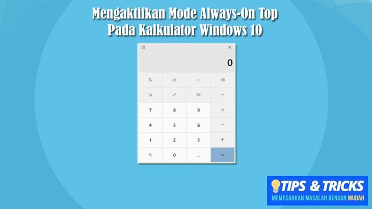 Kalkulator Windows 10