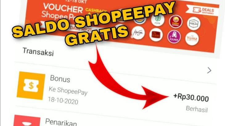 Begini Cara Dapatkan Saldo ShopeePay Gratis 2021