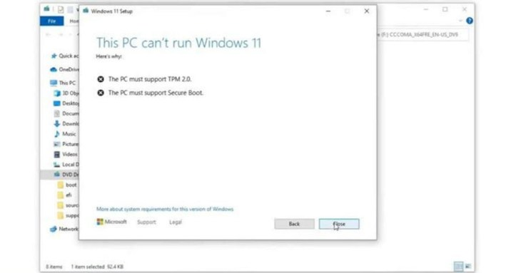 Cara Mengatasi Can't Run Windows 11