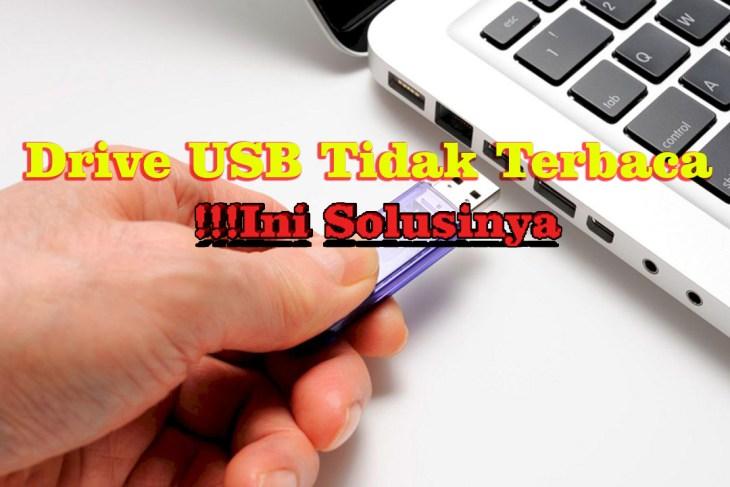 Drive USB Tidak Terbaca