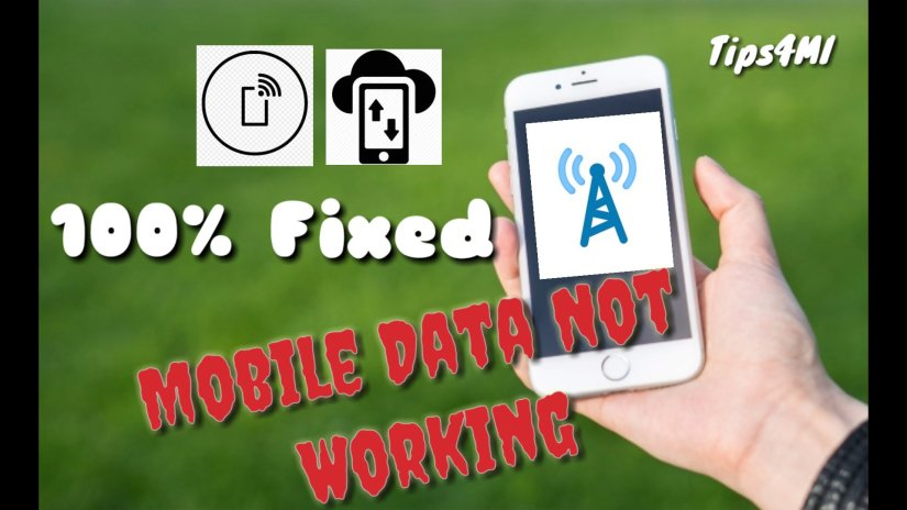 Mobile Data Not Working