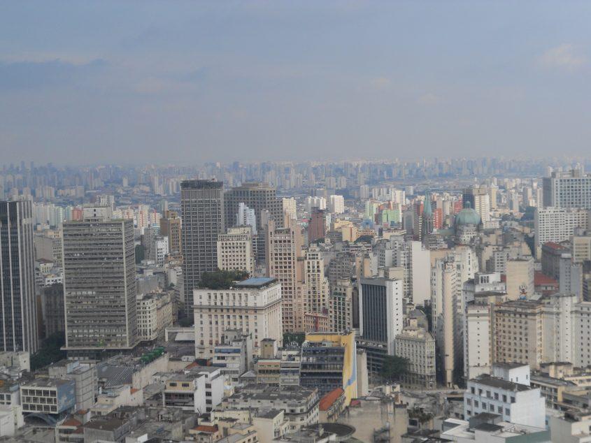 Vista San Paolo Brasile