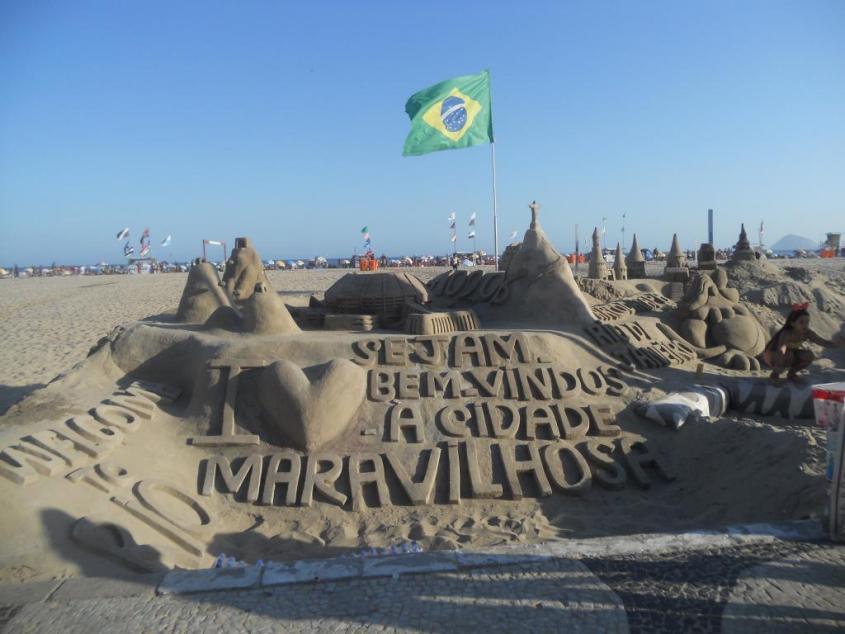 Spiaggia Copacabana di Rio de Janeiro