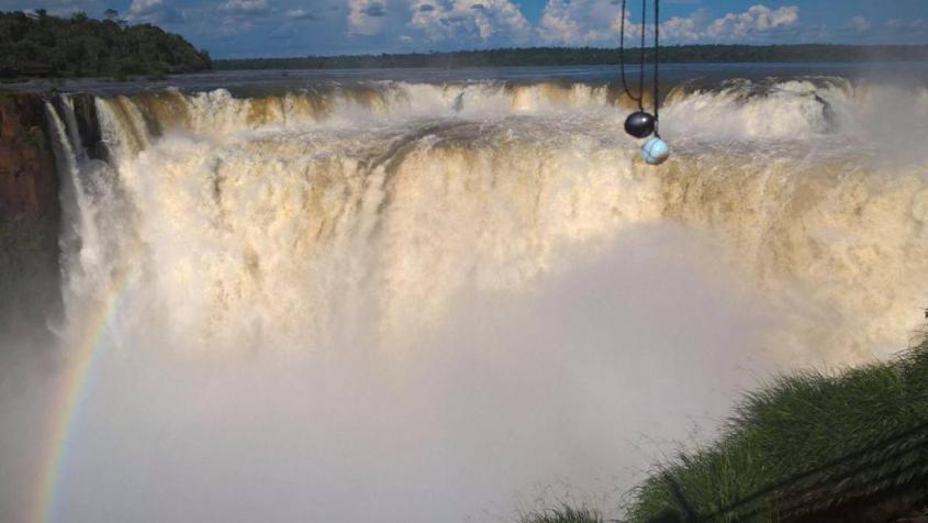 La Garganta del Diablo alle Cascate di Iguazù dal lato argentino