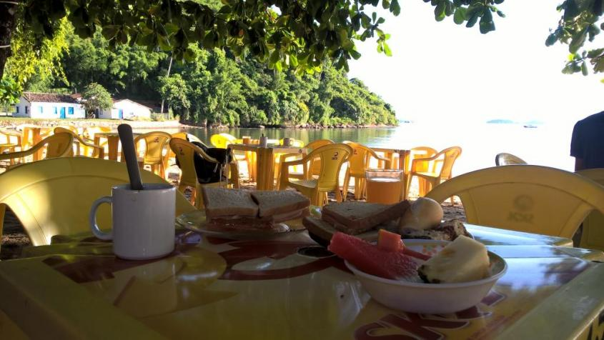 Colazione a Paraty in Brasile