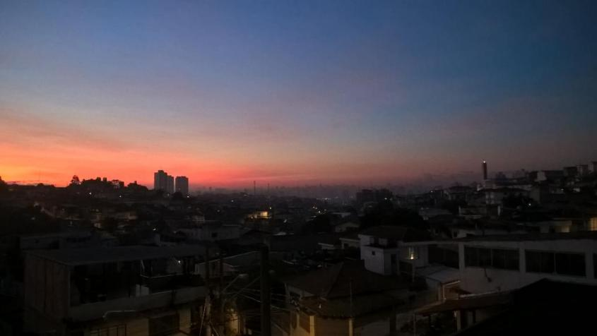 Tramonto San Paolo in Brasile