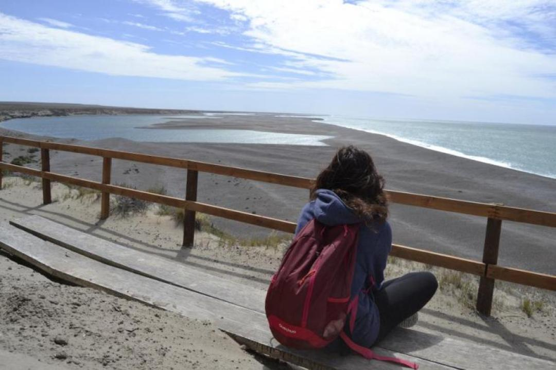Caleta Valdes nella Penisola di Valdes in Argentina