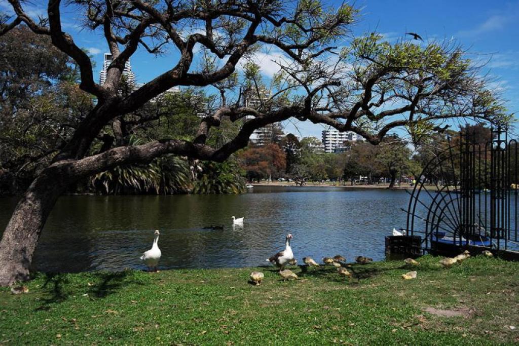 Il Parque 3 de Febrero di Buenos Aires, quartiere Palermo