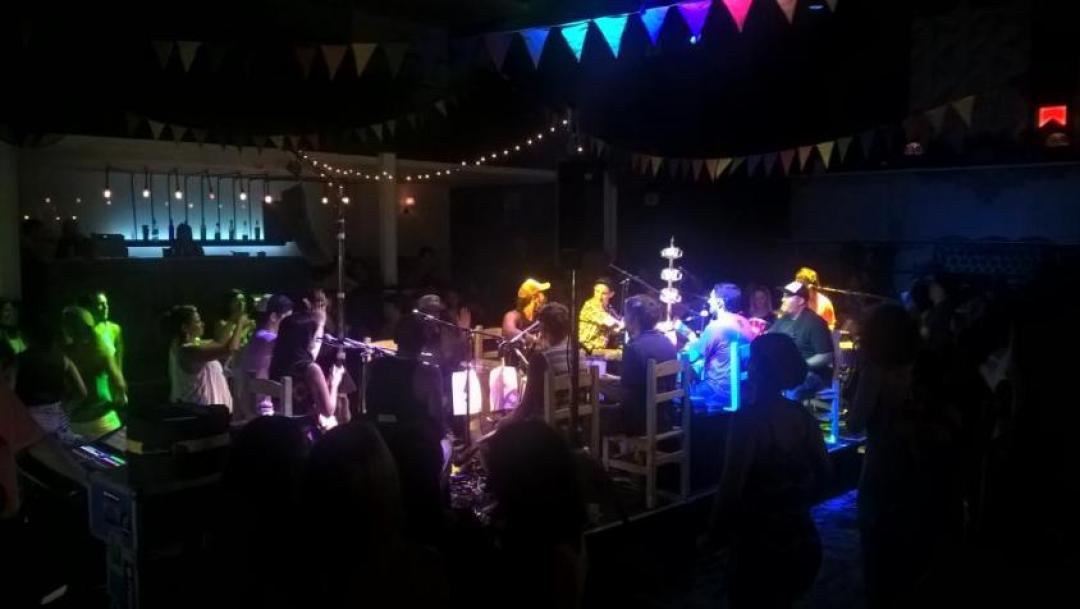 Concerto al Club Araoz di Buenos Aires