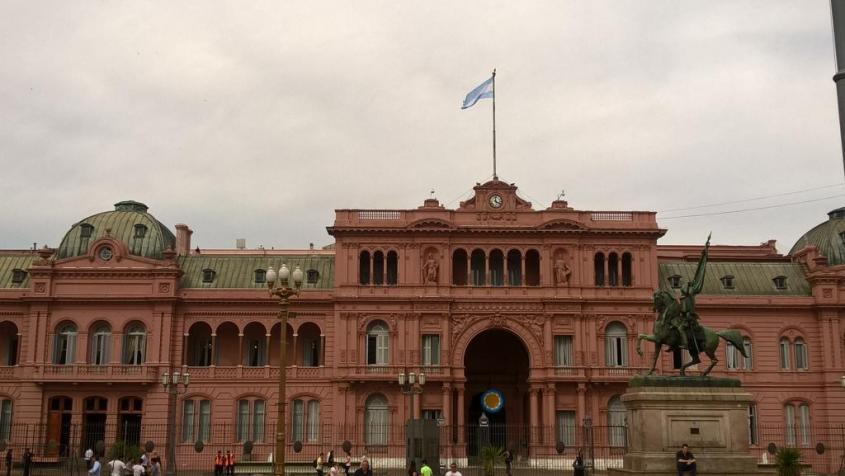 Casa Rosada di Buenos Aires
