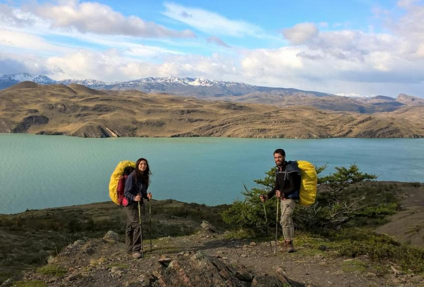 "Trekking ""W"" nel Parco Nazionale Torres del Paine in Cile"