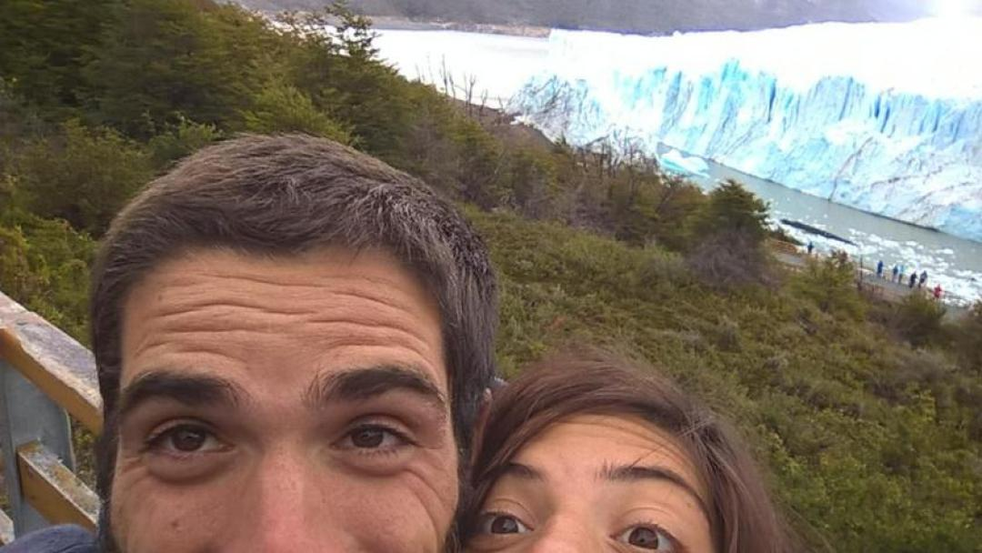Ghiacciaio Perito Moreno e lago Argentino a El Calafate nella Patagonia argentina