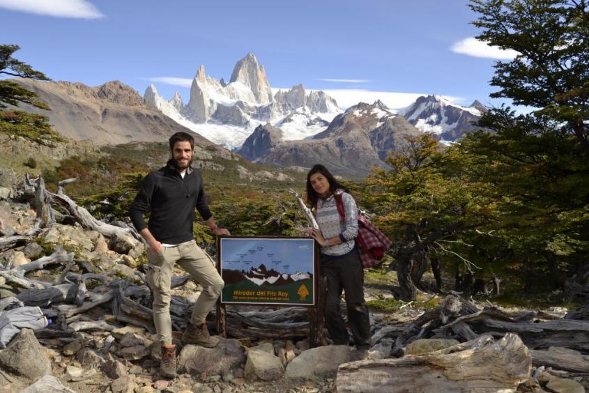 Punto d'osservazione Mirador Fitz Roy trekking El Chalten