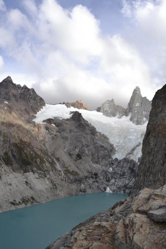 Trekking al Sendero Fitz Roy di El Chalten. La Laguna Sucia ed il ghiacciaio Blanco