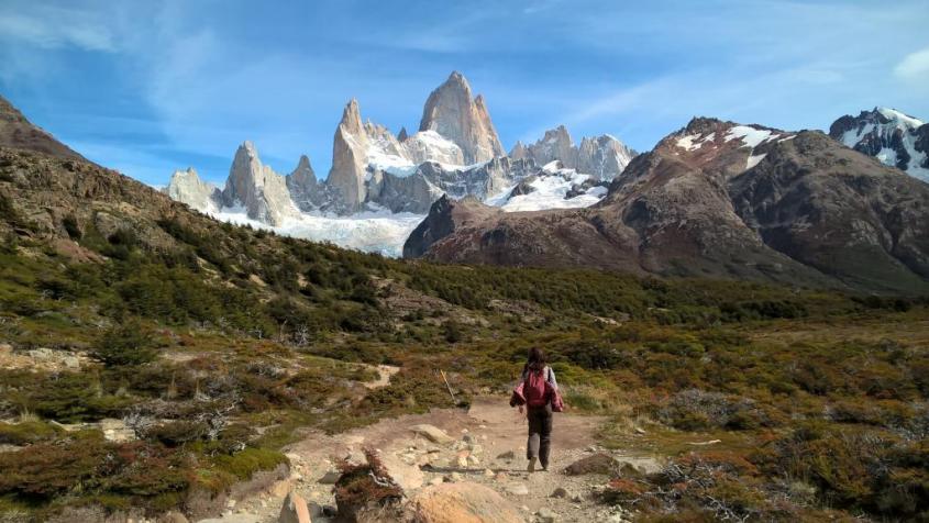 Trekking al Sendero Fitz Roy di El Chalten Patagonia Argentina