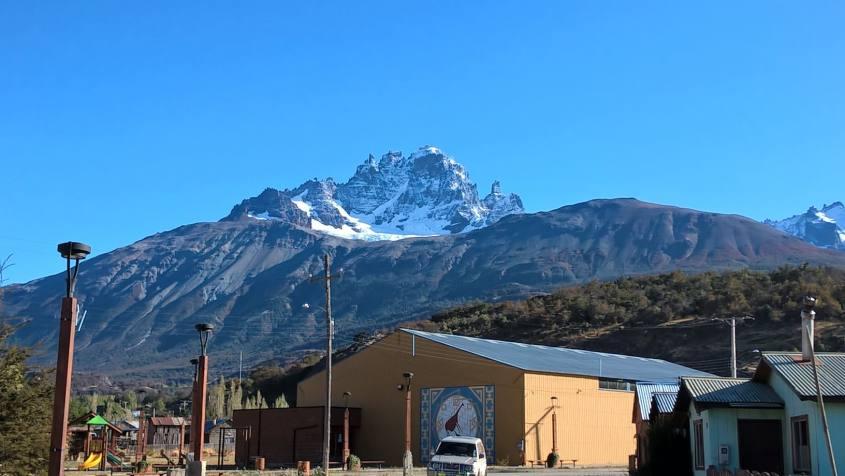 Montagna Cerro Castillo in Cile