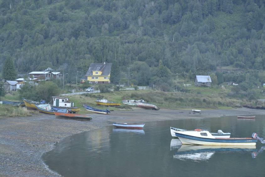 Puyuhuapi in Cile sulla Carrettera Austral