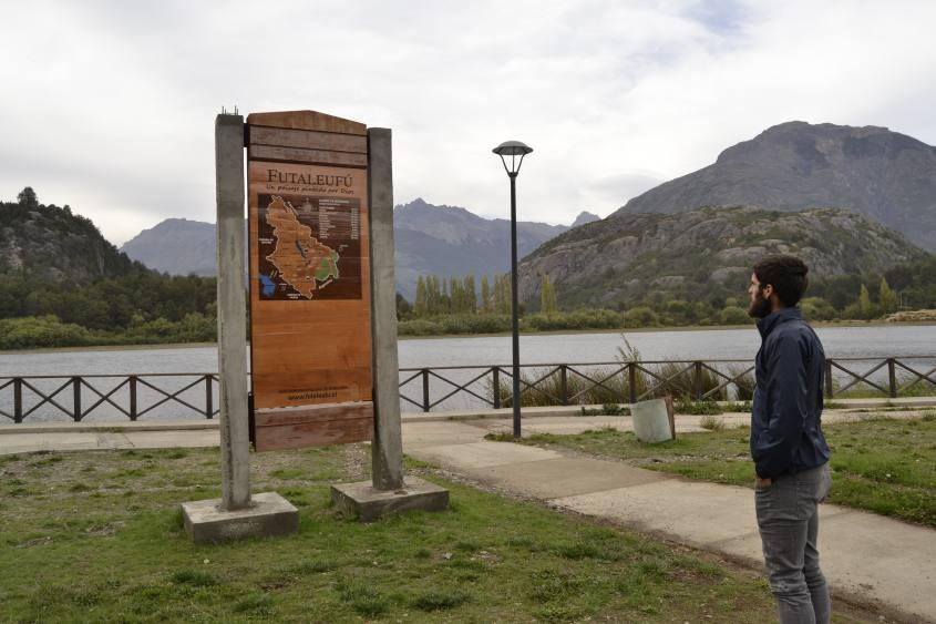 Cartello Futaleufu in Cile