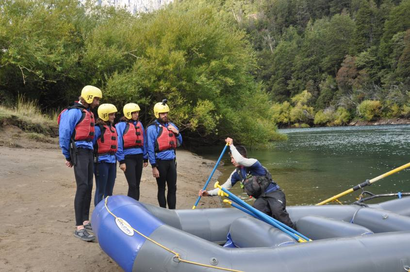 Rafting a Futaleufu in Cile Sud America