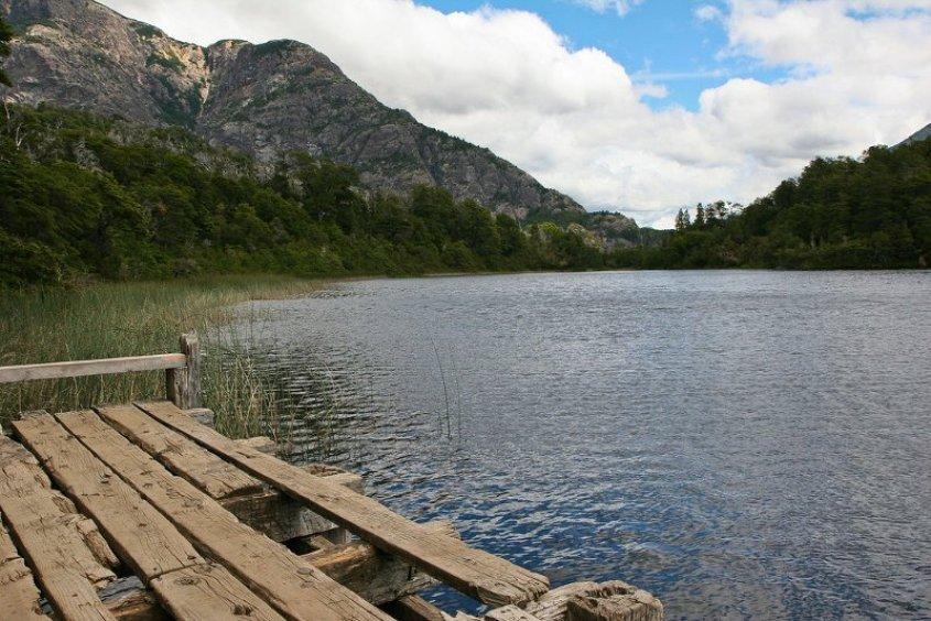 La Laguna Escondida lungo il Circuito Chico di Bariloche in Argentina
