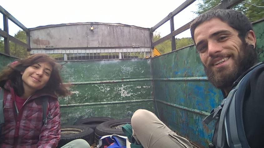Verso la frontiera Cile-Argentina in autostop