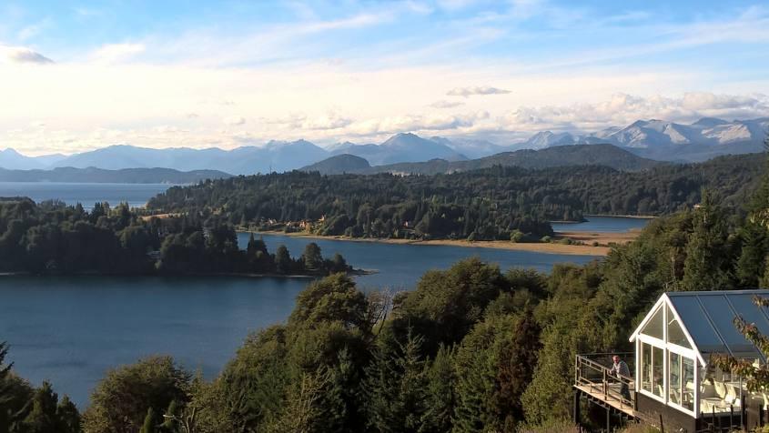 Punto panoramico lungo il Circuito Chico di Bariloche in Argentina