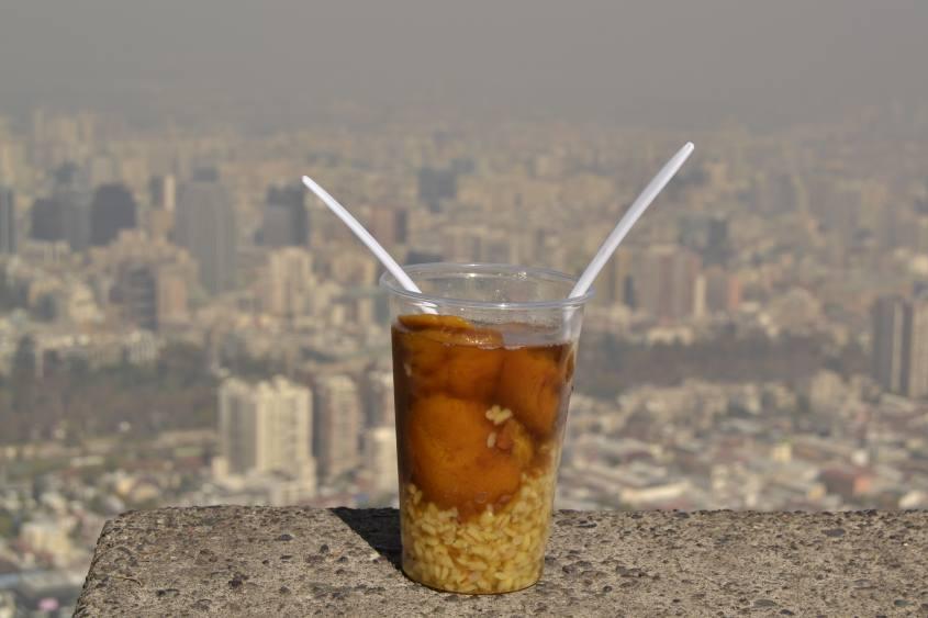 Mote con Huesillos, la bevuta simbolo di Santiago del Cile