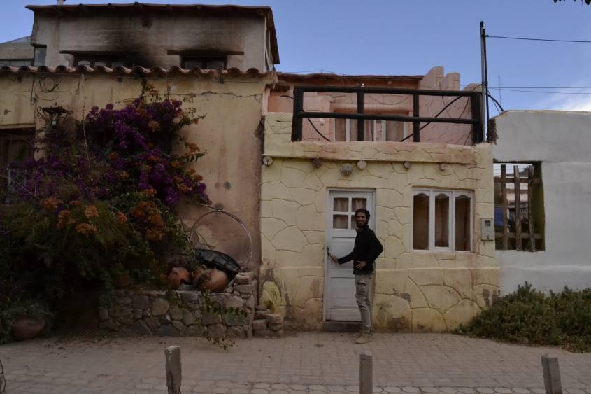 La nostra nuova casa dataci dal Tilcara Hostel a Tilcara in Argentina