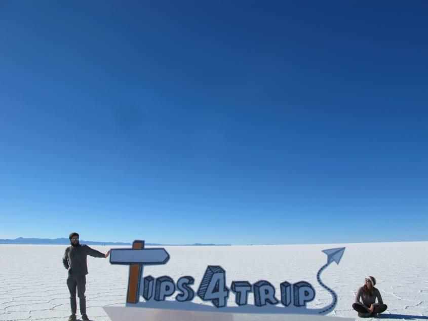 Tips4trips.org al Salar di Uyuni in Bolivia