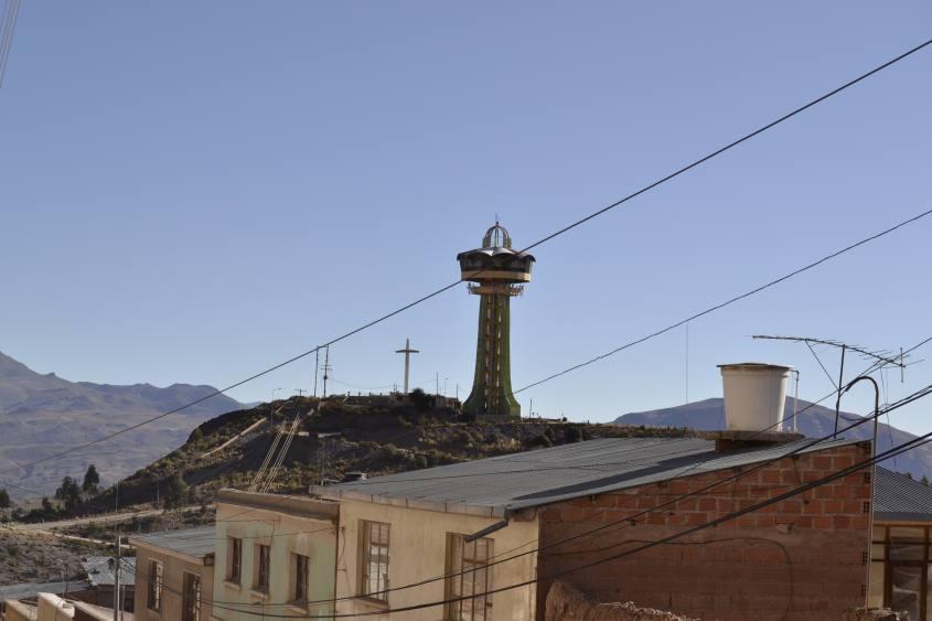 Ristorante girevole di Potosì in Bolivia