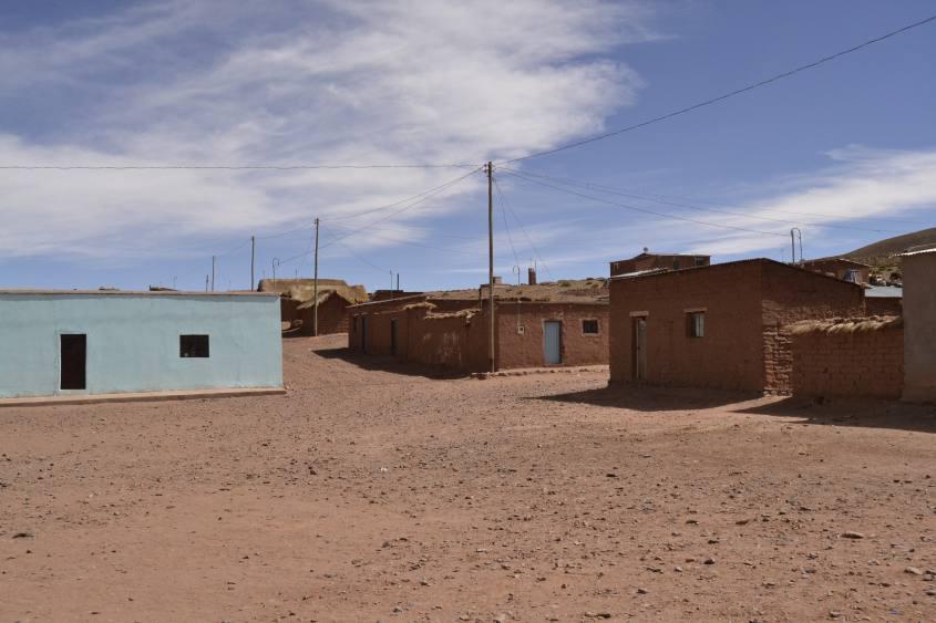 Villaggio San Antonio de Lipéz durante tour al Salar di Uyuni in Bolivia